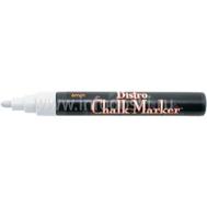 Меловой маркер MARVY 6мм, кругл. белый, фото 1