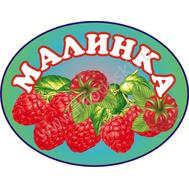 Табличка на группу МАЛИНКА, 0,5*0,4м, фото 1