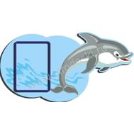 Декоративный стенд ЗАБАВНЫЕ ЖИВОТНЫЕ (дельфин), фото 1