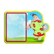 Декоративный стенд ВОВКА В ТРИДЕВЯТОМ ЦАРСТВЕ (из ларца), фото 1