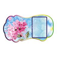 Декоративный стенд  ЦВЕТЫ (розовые), фото 1