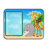 Декоративный стенд МУЛЬТФИЛЬМ (носорог и жираф), фото 1