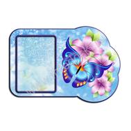 Декоративный стенд БАБОЧКИ (синий цв.), фото 1