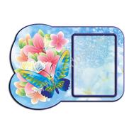 Декоративный стенд БАБОЧКИ (голубой цв.), фото 1