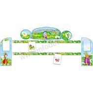 Комплект стендов для детских рисунков (Вовка в Тридевятом царстве), фото 1