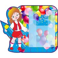 Стенд для рисунков с объемным карманом А4 (девочка), фото 1