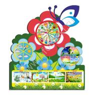 Стенд КАЛЕНДАРЬ ПРИРОДЫ (цветы), фото 1