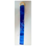 Ленточка на колечке для танцев, цв.синий, фото 1