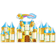 Стенд ДЛЯ ВАС, РОДИТЕЛИ! (желтый замок), фото 1