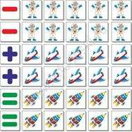 Набор счетного материала для дошкольного образования, фото 1