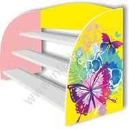 Подставка для поделок БАБОЧКИ, фото 1