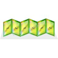 Универсальная папка-передвижка для детского сада в зеленых тонах, фото 1
