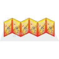 """Универсальная папка-передвижка для детского сада """"Подсолнух"""", фото 1"""