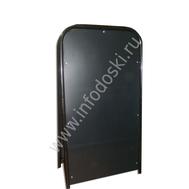 Меловой штендер на металлической раме (двухсторонний), фото 1
