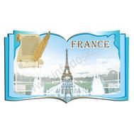 Стенд для кабинета иностранного языка (франц.), фото 1