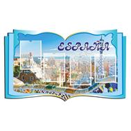 Стенд для кабинета иностранного языка (голубой), фото 1