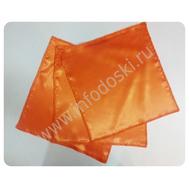 Платочек для танцев 30*30см, оранжевый, фото 1