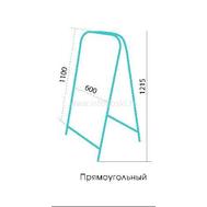 Штендер прямоугольный ДВУСТОРОННИЙ (оцинковка), фото 1