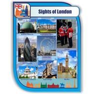 Стенд для кабинета иностранного языка (Лондон), фото 1
