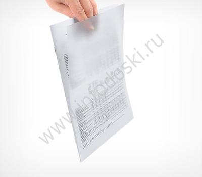 Карман-протектор для пластиковых рамок, А4, фото 3