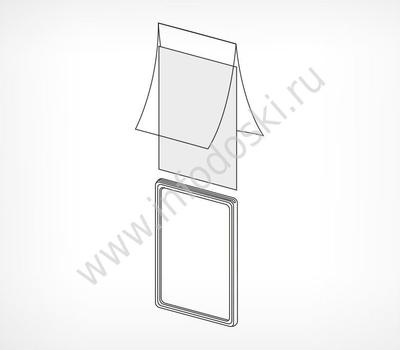 Карман-протектор для пластиковых рамок, А4, фото 2