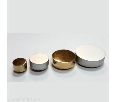 Декоративный колпачок AB05 12мм Polish (серебро) 1шт., фото 2