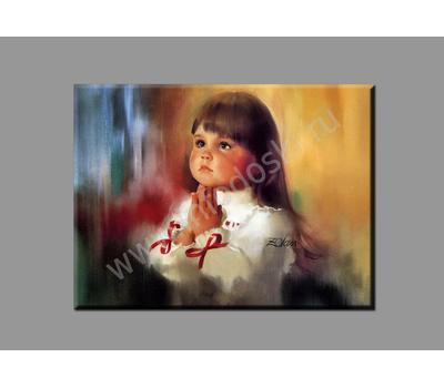 """Картина на подрамнике """"ДЕВОЧКА"""", фото 1"""