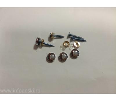 Декоративный колпачок AB05 12мм Polish (серебро) 1шт., фото 1