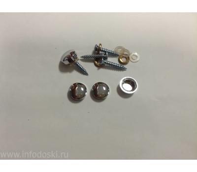 Декоративный колпачок AB05 14мм Polish (серебро) 1шт., фото 1
