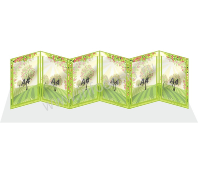 """Универсальная папка-передвижка для детского сада """"Деревце"""", фото 1"""